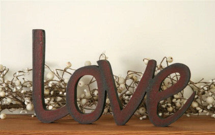 Wooden Love Sign - Coming Soon