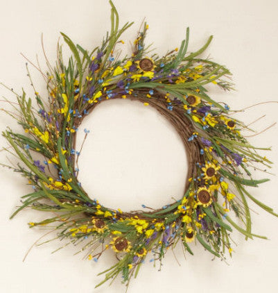 Forsythia Mix Wreath