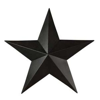 Black Barn Star 18""