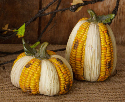 Corncob Pumpkins