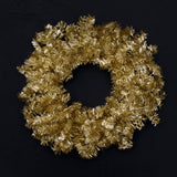 Christmas Wreath - Antique Tinsel