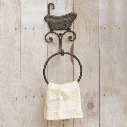 Bath Tub Towel Ring