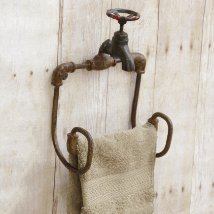 Faucet Style Toilet Paper Holder