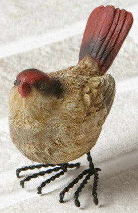 Red Head Resin Finch