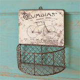 Vintage Style Bicycle Wire Basket