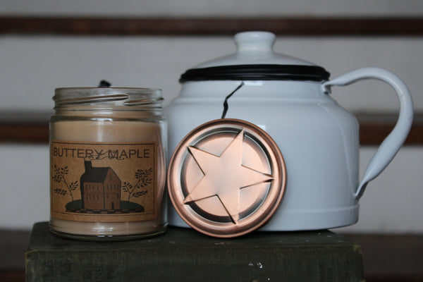 Buttery Maple 8oz Soy Blend Candle