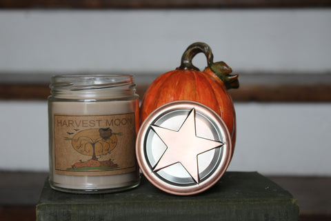 Harvest Moon 8oz Soy Blend Candle