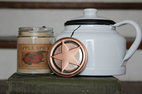 Apple Spice 8oz Soy Blend Candle