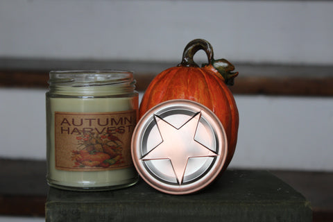 Autumn Harvest 8oz Soy Blend Candle