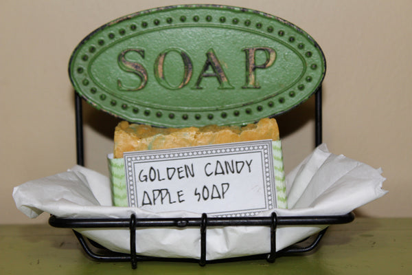 Golden Candy Apple Soap