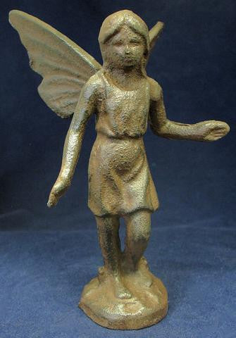 Cast Iron Fairy Figure
