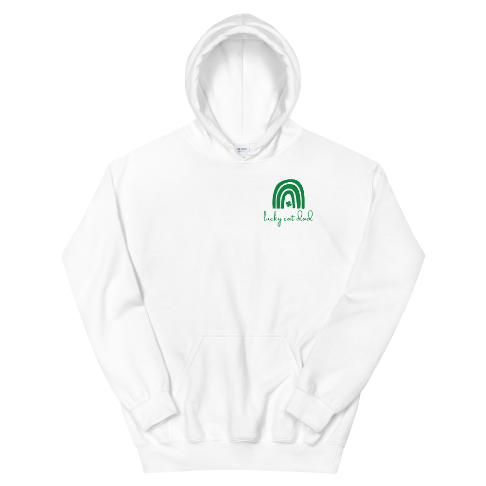 Lucky Cat Dad Hoodie