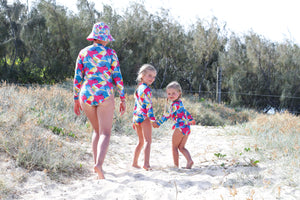 Baby's Surfsuit Seabirds