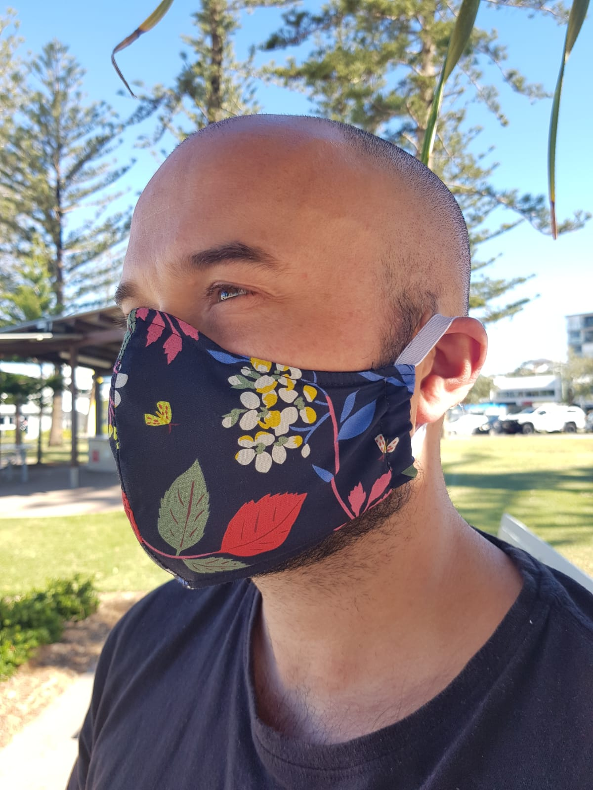 Polyester Outer Cloth Face Masks