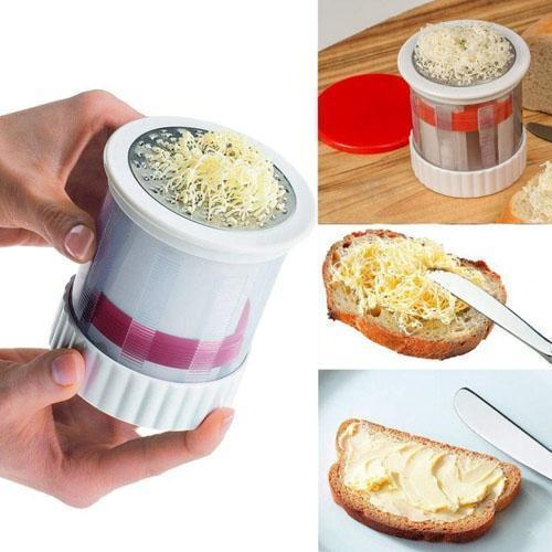 STAINLESS STEEL BUTTER GRATER AND BUTTER MILL - RAPBLUE