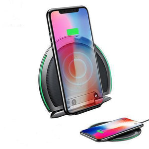 Baseus Collapsible Qi Wireless Charger For iphone X Samsung S9 S8 Huawei Xiaomi - RAPBLUE