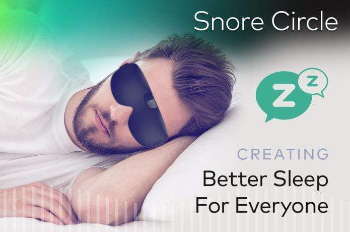 Snore Circle - Smart Anti-Snoring Eye Mask - RAPBLUE