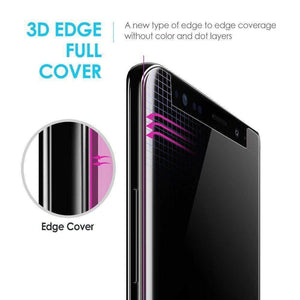 New Technology - Liquid UV 3D Full Coverage Tempered Glass Screen Protector for Samsung - RAPBLUE