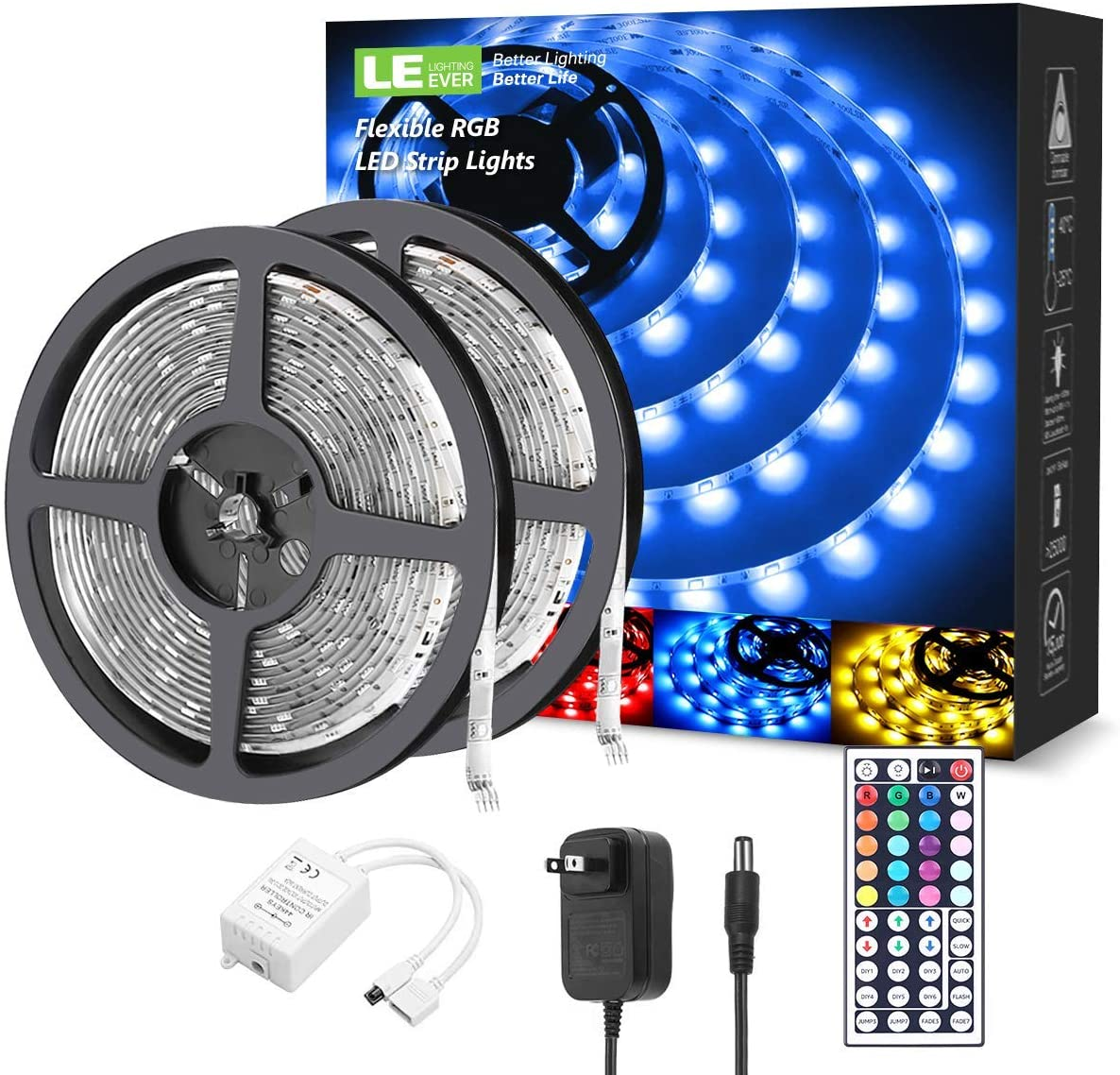 RGB 5050 16FT Color Changing LED light strip (Remote included) - RAPBLUE