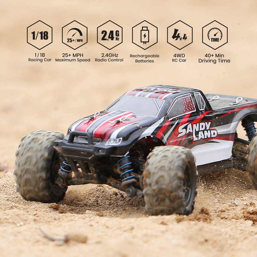 1:18 Professional Best High Speed Off-Road Remote Control RC Car - RAPBLUE