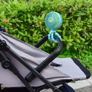 Anti-Touch Function Entangle Baby Stroller Fan For Baby - RAPBLUE