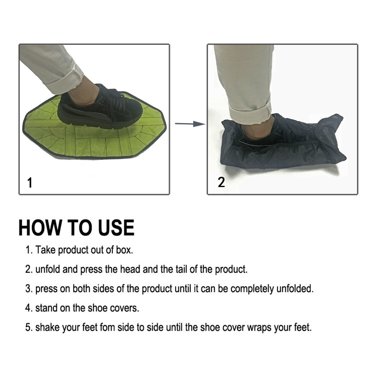 Hands-Free Automatic Parcel Lazy Foot Cover - RAPBLUE