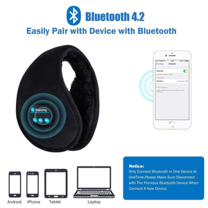 Wireless Bluetooth Earmuffs - RAPBLUE