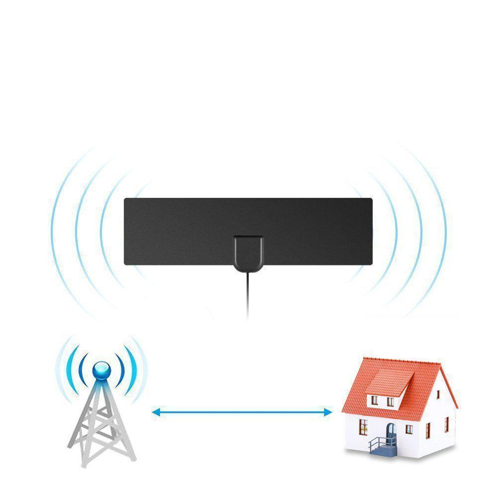 Free HDTV! Cable Antenna with Amplifier Signal Booster - RAPBLUE