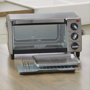 4-Slice Toaster Oven with Natural Convection - RAPBLUE