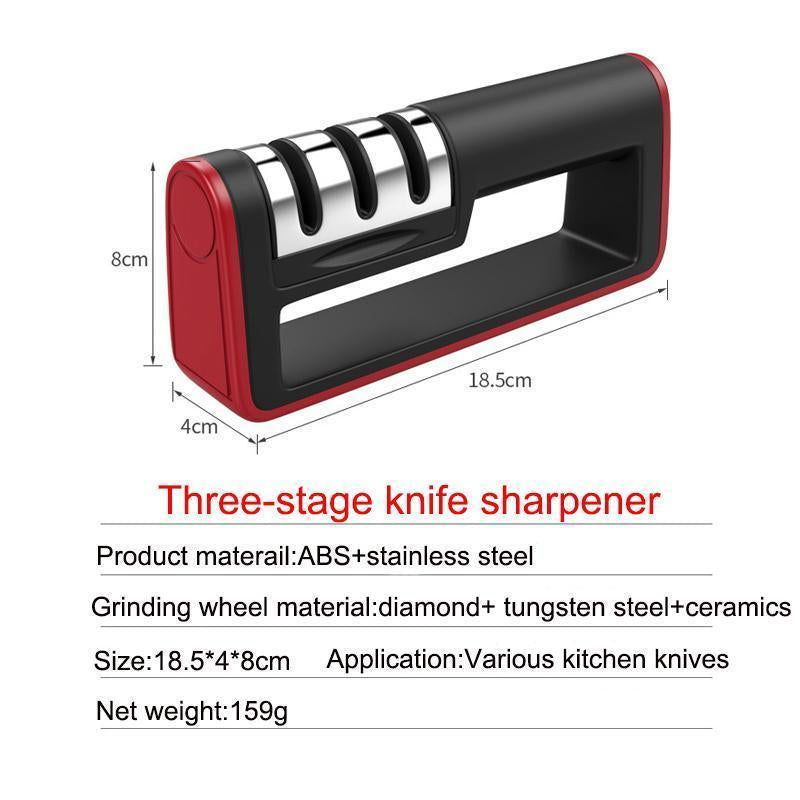 3-Stage Professional Knife Sharpener - RAPBLUE