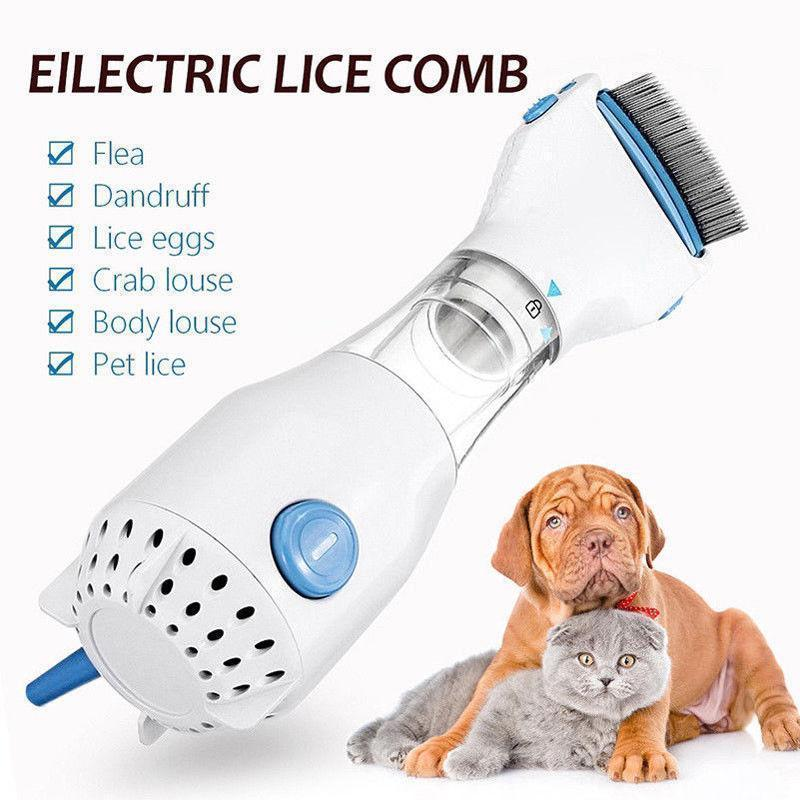 Electric Lice Comb for Pets - RAPBLUE