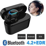 HBQ Q26 TWS Bluetooth Wireless In-ear Earbuds - RAPBLUE
