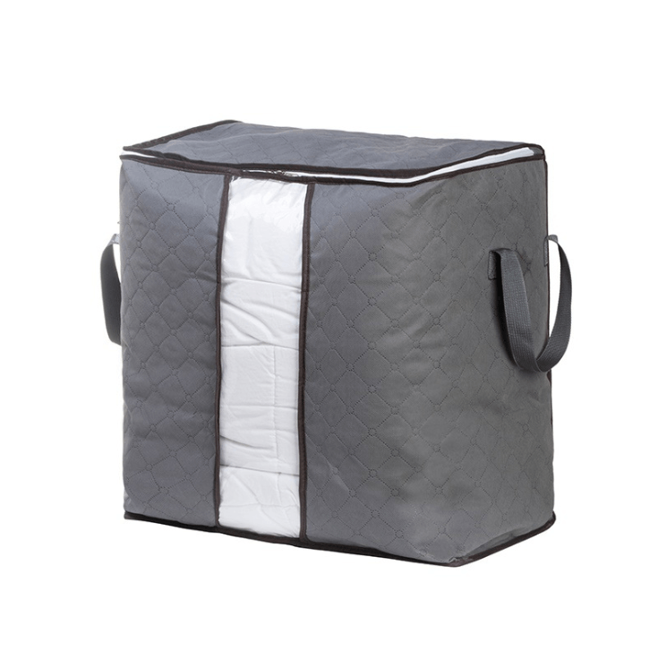 Large quilt bag storage bag clothing storage box moving artifact non-woven finishing dustproof storage bag - RAPBLUE