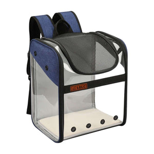 PVC space capsule carrying bag folding pet bag - RAPBLUE
