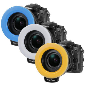 48pcs LED DSLR Camera Ring Flash - RAPBLUE