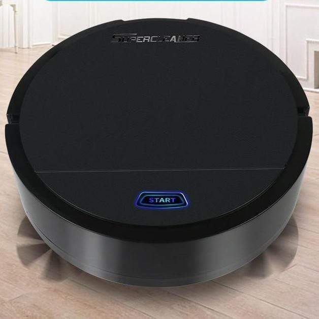 Rechargeable Auto Cleaning Vacuum Cleaner - Smart Sweeping Robot - RAPBLUE