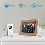 Personal Home Weather Station Center Wireless Indoor Outdoor Use - RAPBLUE
