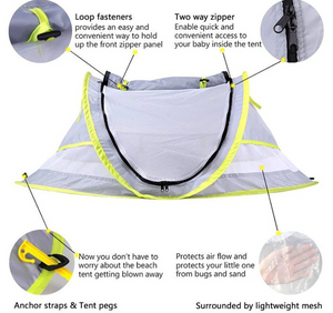 Baby beach tent baby shelter - RAPBLUE