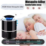 Electric Bug Trap Mosquito Magnet Insect Killer Repeller Night Light - RAPBLUE
