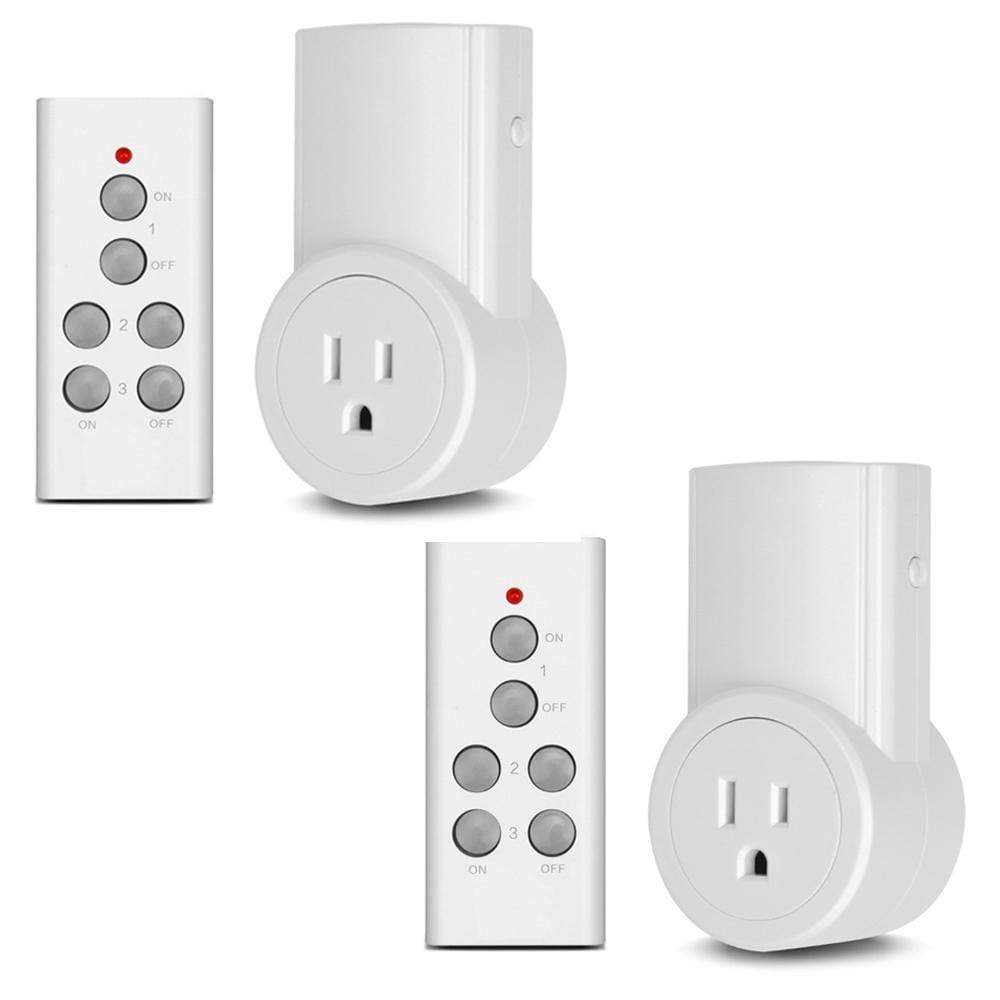 Wireless Remote Control Electrical Outlet - RAPBLUE