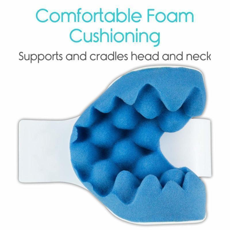 UK0d Traction Pillow Relaxer back and relax Neck Relief Muscle Pain Shoulder - RAPBLUE