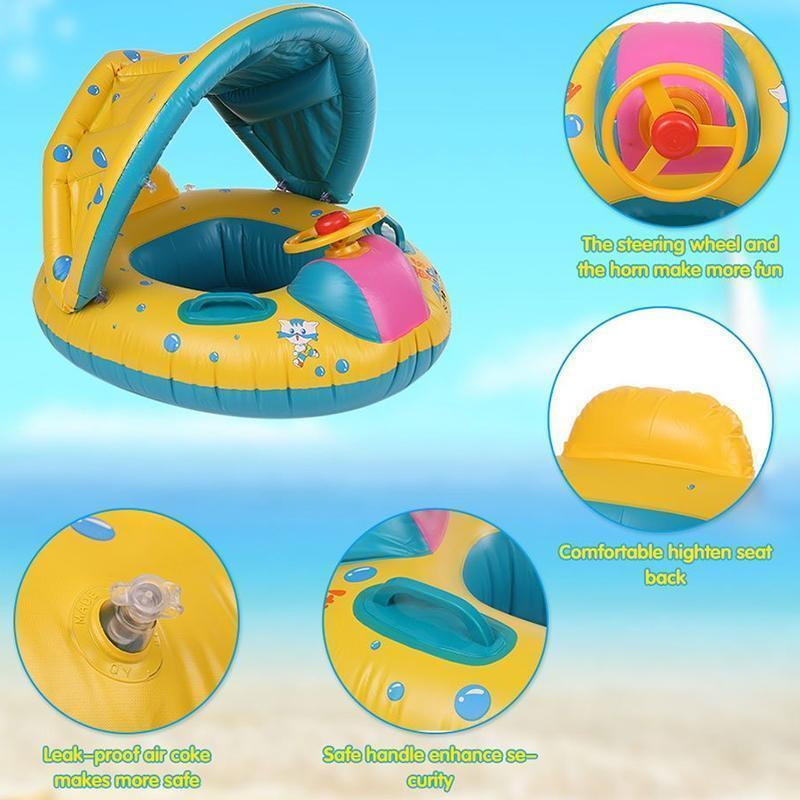Baby Infant Swimming Pool Float - RAPBLUE
