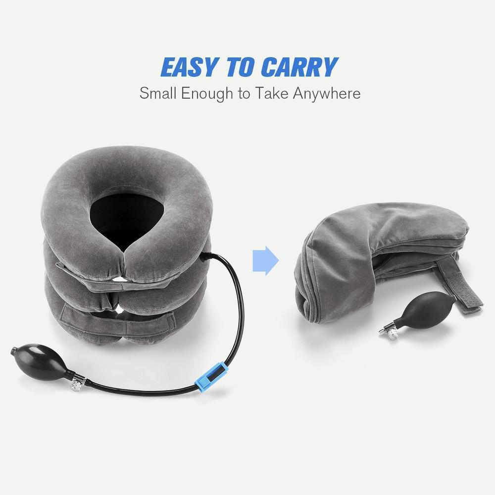 Expandable Pain-Relief Neck Pillow Collar - RAPBLUE