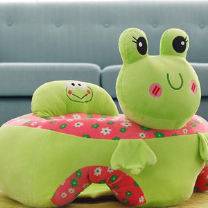 Colorful Infant Baby Learning Seat/Sofa Portable Plush Chair - RAPBLUE