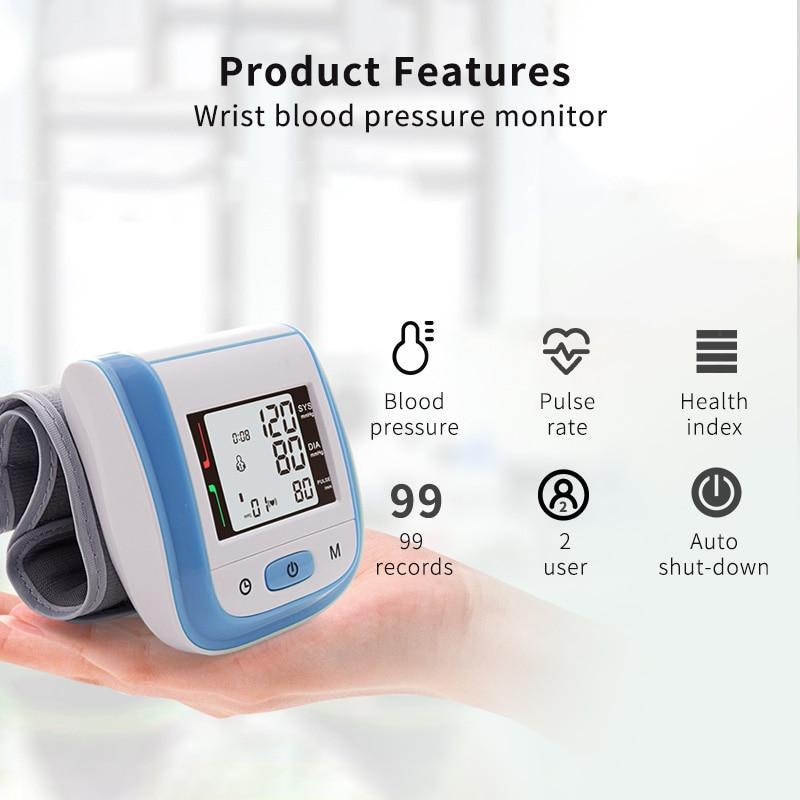 Home Care Set: Baby & Adult Ear Forehead Thermometer, Wrist Blood Pressure Monitor, and Fingertip Pulse Oximeter - RAPBLUE