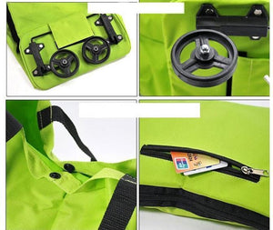 Shopping Bag on Wheels - RAPBLUE