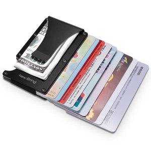 Mini Card Holder and Money Clip - RAPBLUE