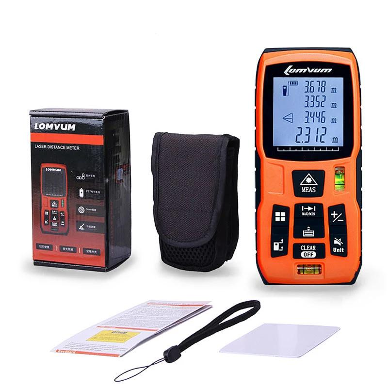 Laser Rangefinder Digital Laser Distance Meter battery-powered tape distance measurer - RAPBLUE