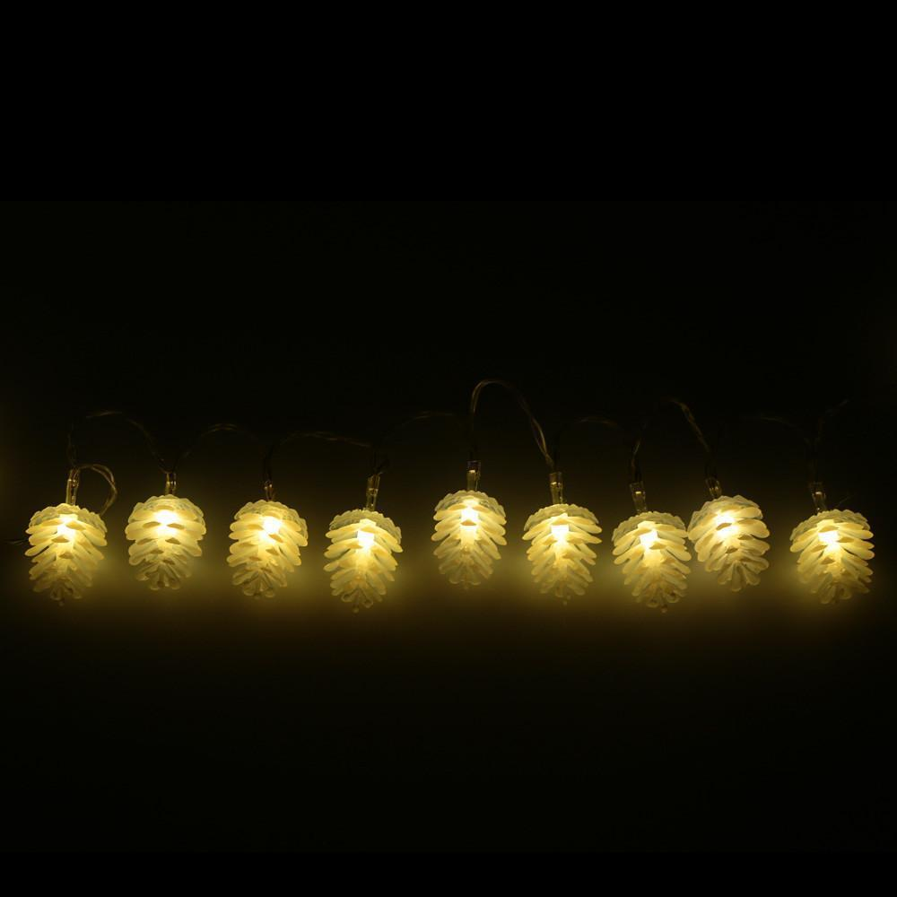 Home Decor LED Warm Pinecone Lamp - RAPBLUE