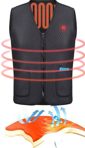 Outdoor Thermal Heating Vest - RAPBLUE